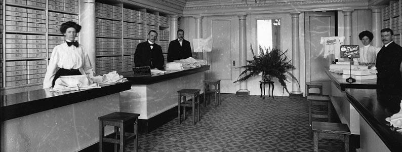 Dr. Deimel Linen-Mesh Company, Montréal, 1908, Wm. Notman & Son, Musée McCord, II-169677