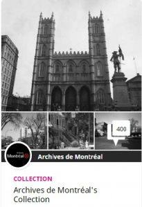 archives de montréal