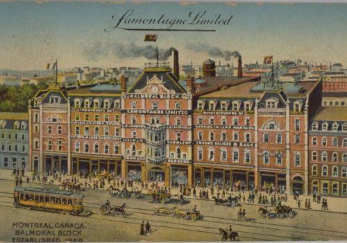 Lamontagne Limited, Illustrated Post Card Company, 190-?, Bibliothèque et Archives nationales du Québec, CP 2902 CON