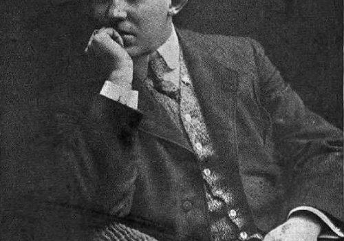 M. Paul Cazeneuve, nouveau directeur du Théâtre National, illustration, Le Passe-Temps, 3 novembre 1906, Richard Photo, Bibliothèque et Archives nationales du Québec