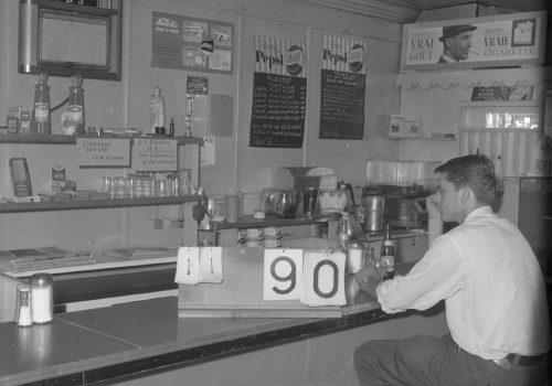 Restaurant Jeannette, 1963, Archives de la Ville de Montréal,VM94C196-069