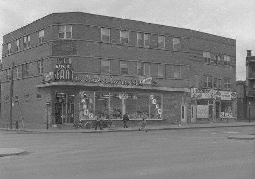 Marché A. Deslauriers, 1963, Archives de la Ville de Montréal, VM94C196-18
