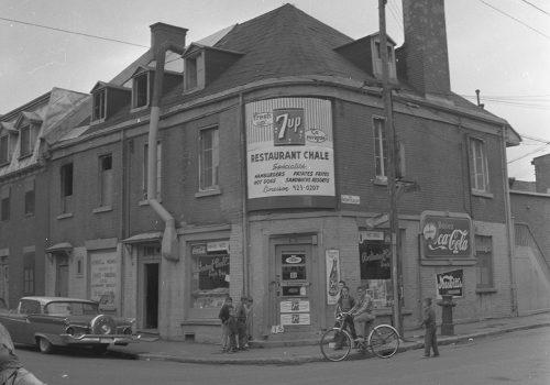 Restaurant Chale, 1963, Archives de la Ville de Montréal,VM94C196-0065