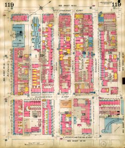 Chas. E. Goad Co., Insurance plan of city of Montreal, Quebec, Canada, volume III, 1915, pl. 119