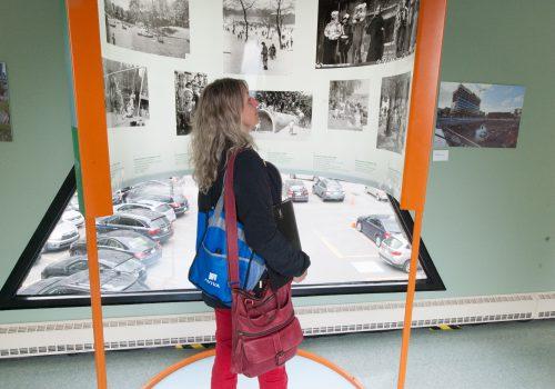 Exposition Le Plateau de Michel Tremblay, 2015-2016, Centre de recherche du CHUM, Photo CHUM