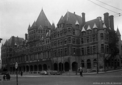Gare-Hôtel Viger, 22 novembre 1950, Archives de la Ville de Montréal, VM94-Z404-2