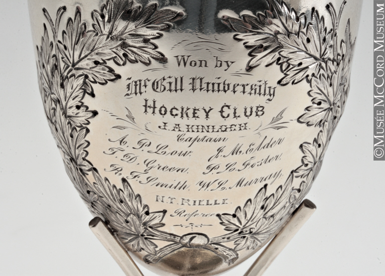 Coupe de hockey du carnaval d'hiver de 1883, Thomas Allan & Co., 1883, Musée McCord, M976.188.1