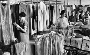 Studio Millar, Dechaux Frères Limitée, teinturiers et nettoyeurs, Montréal, 1929. Don de Marcel Paquette, M2019.46.2 © Musée McCord